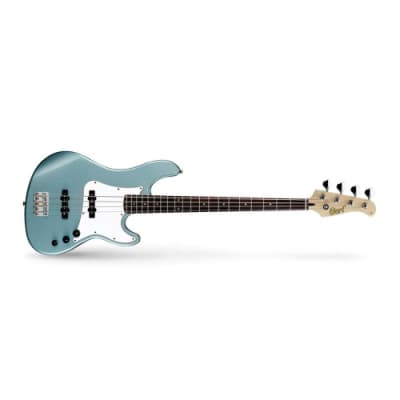 Cort GB54JJ Sea Foam Pearl Green 4 String Electric Bass Guitar for sale