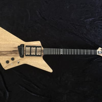 🔥On-SALE Today!  Explorer Custom Guitar Black Diamond Jericho Hand Crafted Prototype for sale