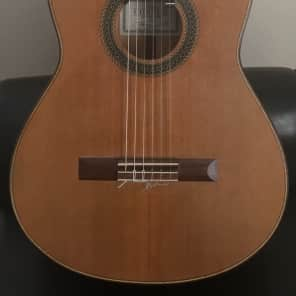 Beautiful Stephan Connor Cedar and Cypress Classical Guitar with Rich Sound for sale