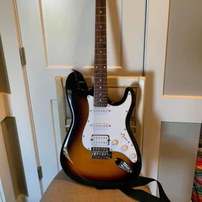 Glen Burton GE39-ST101-TS Solid Body Bolt-on Maple S-Type 6-String Electric Guitar-Tobacco Sunburst for sale