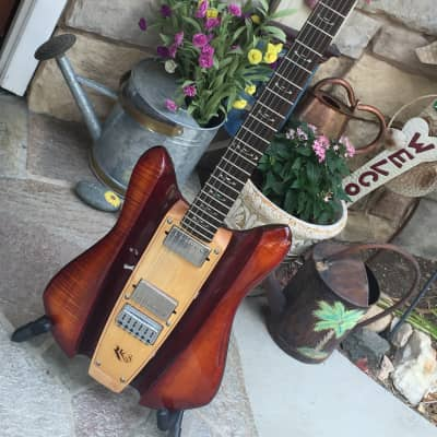 RKS Rare All Wood Top Of The Line Dave Mason Guitar One of a kind Electric for sale