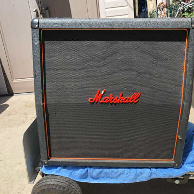 Marshall 4x12 Cabinet - Loaded w/ Eminence Delta-12LFC and Eminence EPS-12C Speakers - Local Pickup
