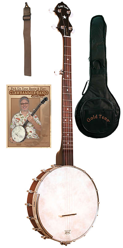 Gold Tone CC-OT Beginners Open-Back Cripple Creek Banjo | Reverb