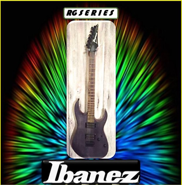 Ibanez RG6003FM Flat Grey 2 Tone Wood Finish