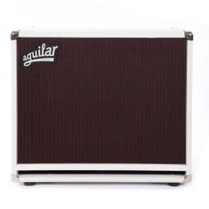 Aguilar DB 1x15 8 Ohm Cabinet White Hot for sale