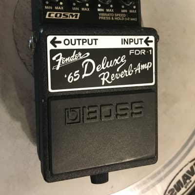 Boss FDR-1 Fender '65 Deluxe Reverb Amp Pedal - Overdrive - Tremolo - Reverb for sale