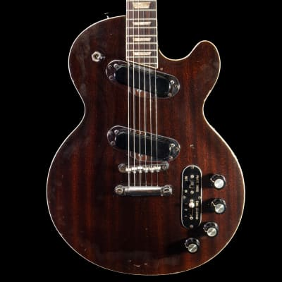 CSL 70's Singlecut Professional Guitar in Walnut, Pre-Owned for sale