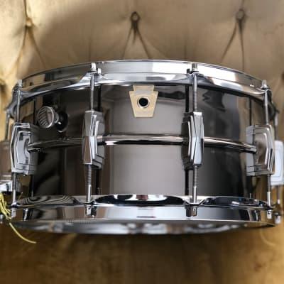 "Ludwig LB417 Black Beauty 6.5x14"" Bronze Snare Drum 1988 - 1992"
