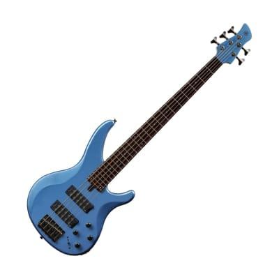Yamaha TRBX305 5-String Electric Bass Factory Blue TRBX305FTB for sale