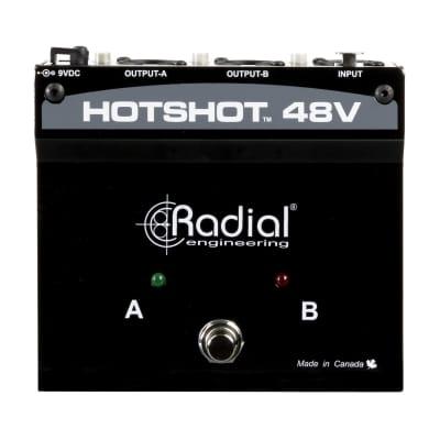 Radial HotShot 48V Condenser Microphone Switcher