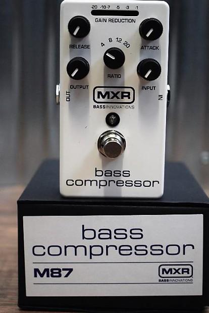 dunlop mxr m87 bass compressor bass guitar effect pedal reverb. Black Bedroom Furniture Sets. Home Design Ideas