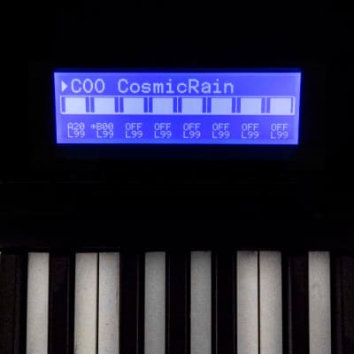 Korg 01/W NEW LCD Display replacement blue