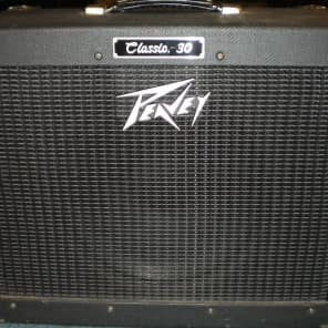 Peavey Classic 30 1x12 Guitar Combo 1990s Black Tweed