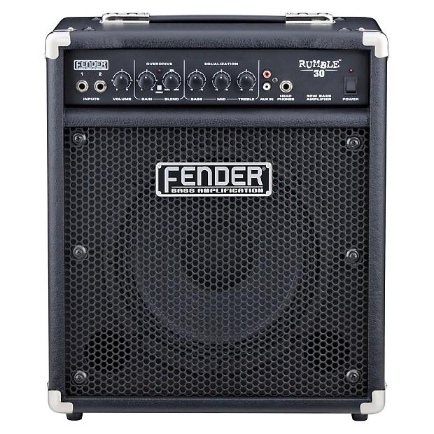 fender rumble 30 30w 1x10 combo bass amp reverb. Black Bedroom Furniture Sets. Home Design Ideas