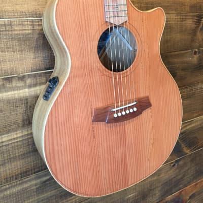 Cole Clark Cole Clark Angel 2 Redwood/Blackwood Acoustic/Electri Redwood/Blackwood for sale