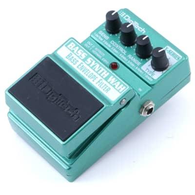 Digitech Bass Synth Wah Envelope Filter Bass Guitar Effects Pedal P-07883