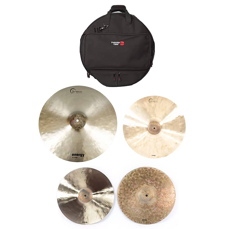 dream 14 18 20 dream energy cymbal set w gator 22 reverb. Black Bedroom Furniture Sets. Home Design Ideas