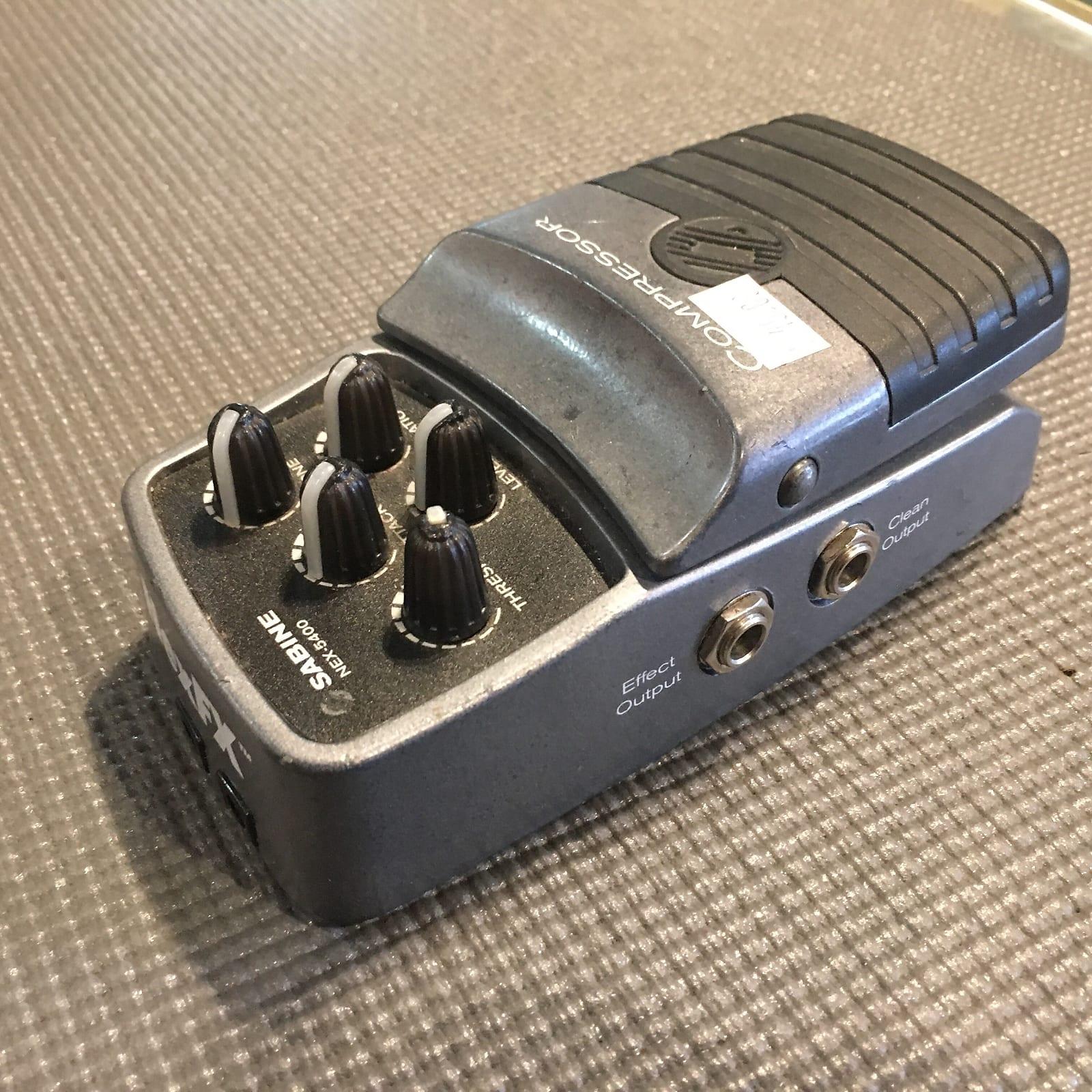 Sabine NEX-5400 Compressor Effects Pedal