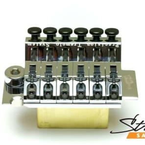 Graph Tech PS-0080-C0 LB63 Floyd Rose-Style Locking Bridge w/ String Saver Saddles