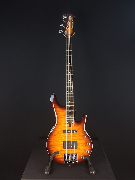 Ibanez RDGR Roadgear 4 String Quilted Maple Electric Bass   Reverb