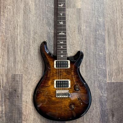 PRS USA Custom 22 Maple Top Electric Guitar Black Gold Wrap Burst