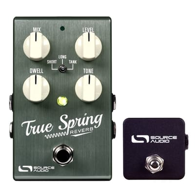 Source Audio True Spring Reverb and Tremelo  (With SA167 Tap Tempo) - The Pedal Store!