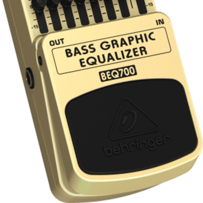 Behringer BEQ700 - Bass Graphic Equalizer Pedal for sale