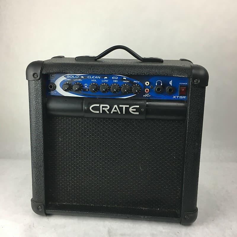 crate xt 15r guitar amplifier 15 watt practice amp reverb. Black Bedroom Furniture Sets. Home Design Ideas