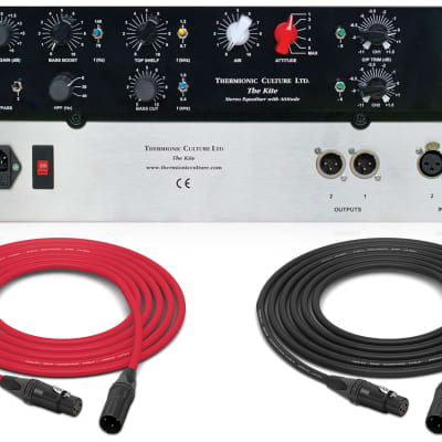Thermionic Culture KITE Valve Stereo Equalizer with Attitude