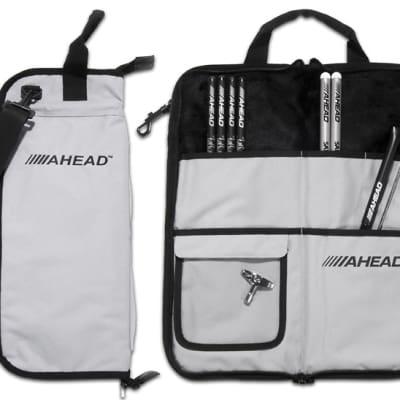 Ahead Bags - SB3 - Deluxe Stick Case (Gray With Black Trim, Plush Interior)