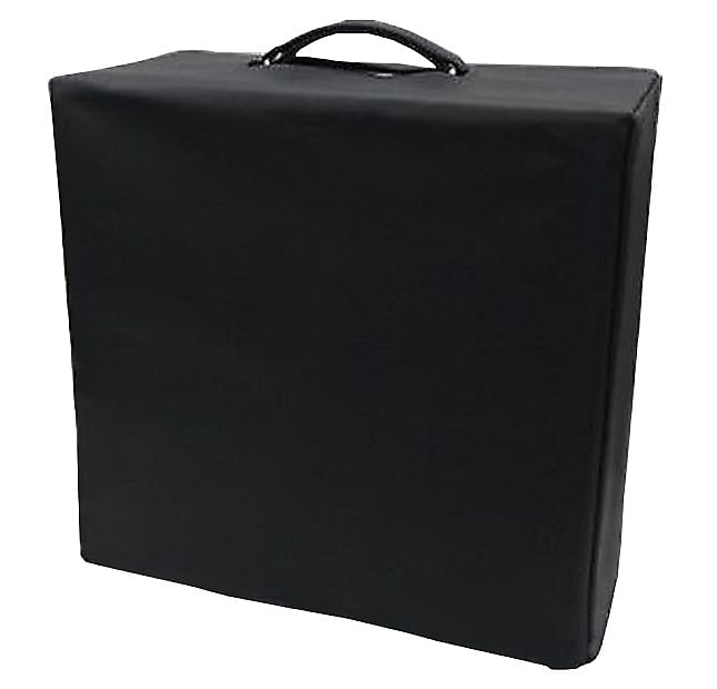 black vinyl amp cover for fender rhodes piano bass 60 39 s reverb. Black Bedroom Furniture Sets. Home Design Ideas