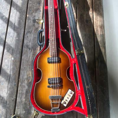 1966 Vintage Hofner 500/1 Violin Bass *PROJECT*