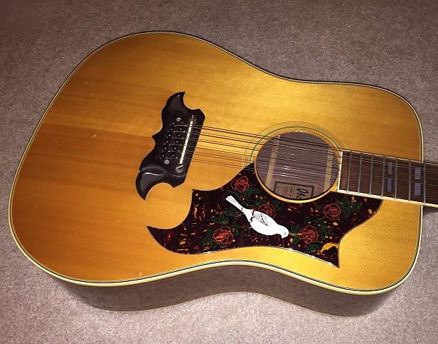 ibanez corcord 693 dove 12 string acoustic guitar reverb. Black Bedroom Furniture Sets. Home Design Ideas