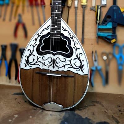 Authentic Bouzouki | Handmade Traditional 8 String Greek Bouzouki w/ Truss Rod