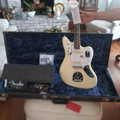 Fender American Signature series Johnny Marr Jaguar 2017 Olympic White