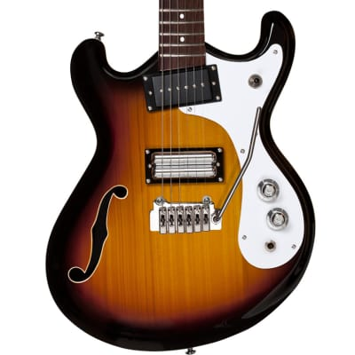 Danelectro '66 Baritone Electric Guitar | 3 Tone Sunburst
