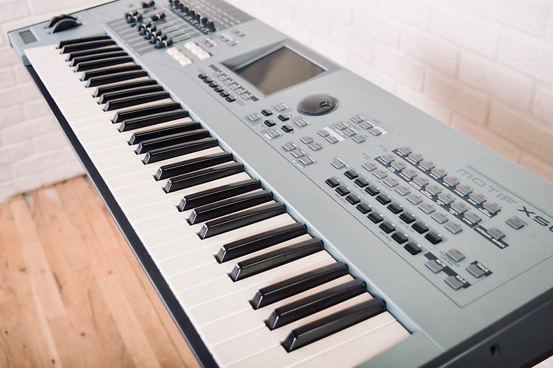 yamaha motif xs6 61 key piano keyboard synthesizer near reverb. Black Bedroom Furniture Sets. Home Design Ideas