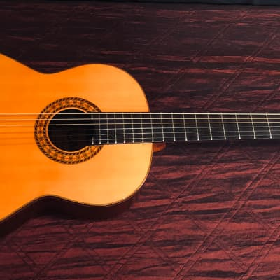Carlos 236 Classical Guitar 1980s Natural W/OHSC for sale
