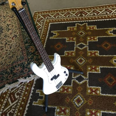 Glarry  P Bass  2019 Olympic White for sale