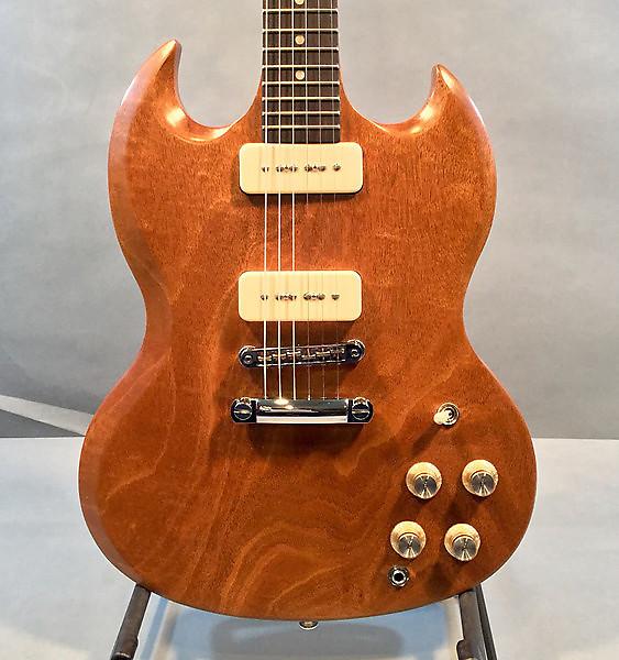 gibson 2016 sg limited edition naked electric guitar reverb. Black Bedroom Furniture Sets. Home Design Ideas