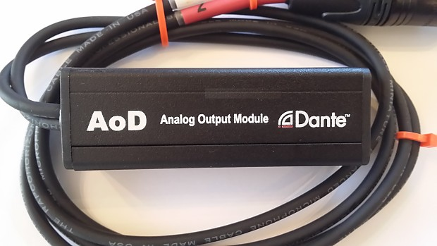 ProCo AoD Dante®-audio to Analog Audio Adapter Ships FREE to ALL USPS Zip Codes