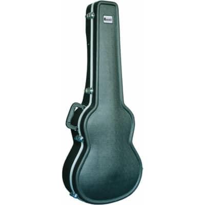 Dimavery ABS Transportkoffer für Konzertgitarren for sale