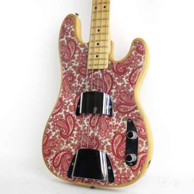 1968 Fender Telecaster Bass Pink Paisley for sale