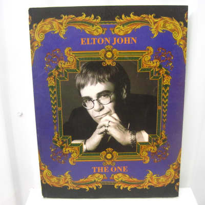 Elton John The One Sheet Music Song Book Songbook
