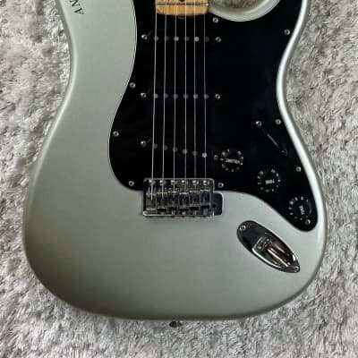 Fender 25th Anniversary Stratocaster Silver Metallic 1979 w/OHSC and Paperwork for sale
