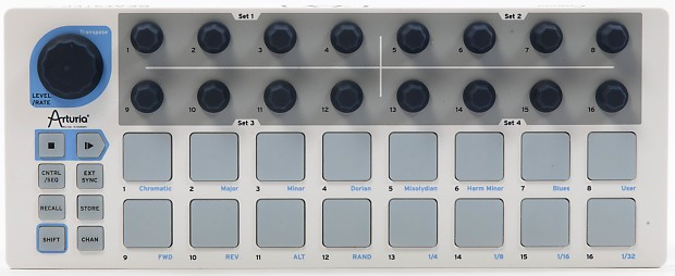 arturia beatstep midi usb control voltage cv gate trigger