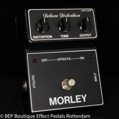 Morley MOD-DDB Deluxe Distortion early 80's s/n 10674 USA