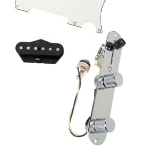 920D Custom Shop 21-17-10-21 Fender Tex-Mex Loaded Prewired Tele Pickguard