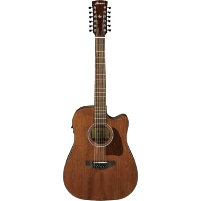 Ibanez AW5412CEOPN Artwood Cedar / Okoume Open Pore Dreadnought