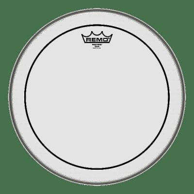 """Remo 10"""" Pinstripe Clear Drum Head w/ Video Link"""